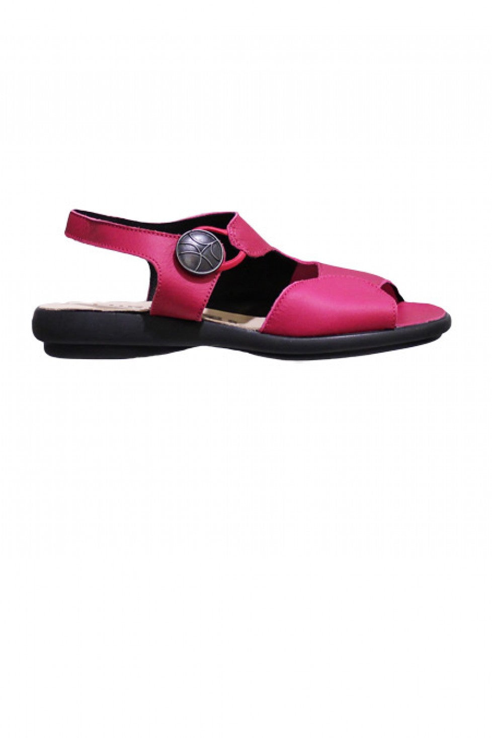 Bright Fuschia Hirica Sandal Style and Grace