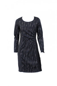 Black Long Sleeve Teaberry Dress Front Style and Grace