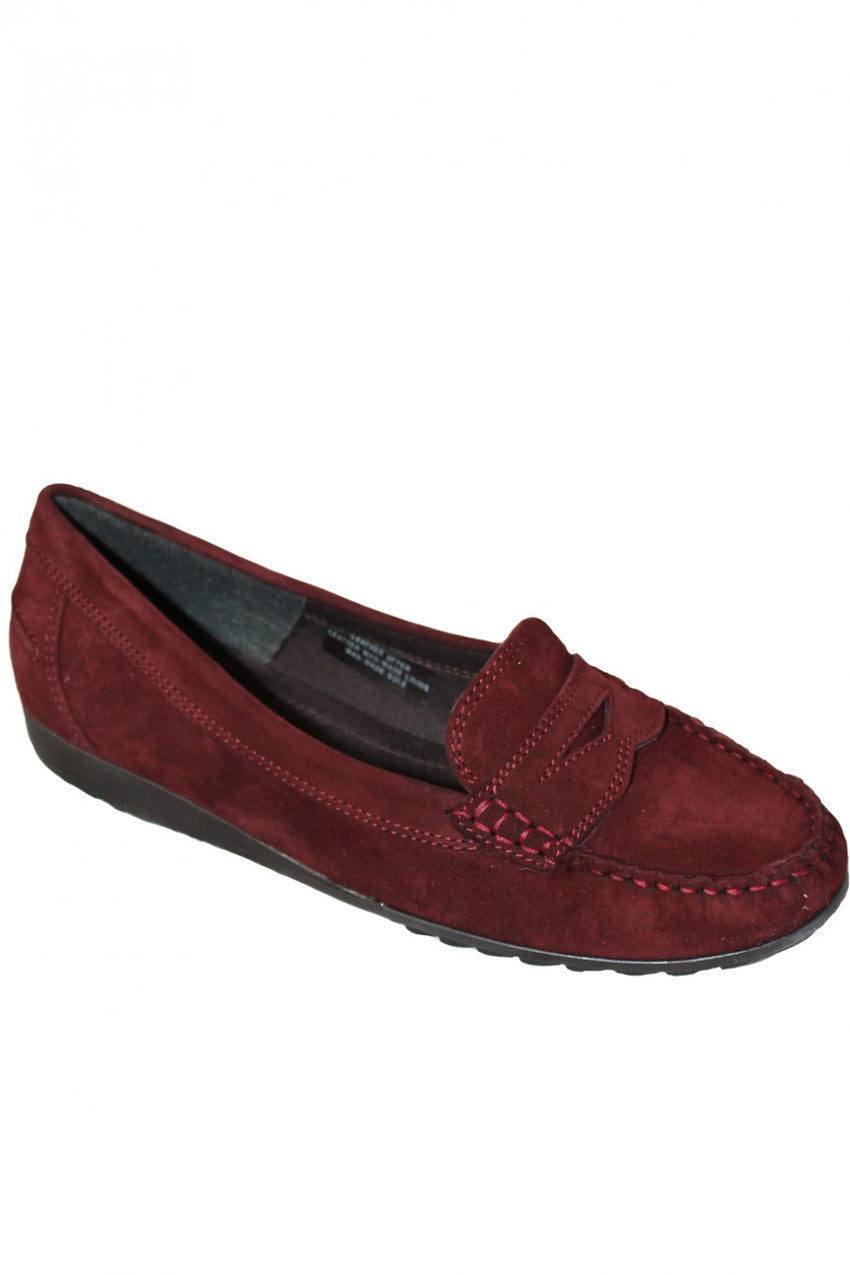 Mahogany ARA Shoe Style and Grace