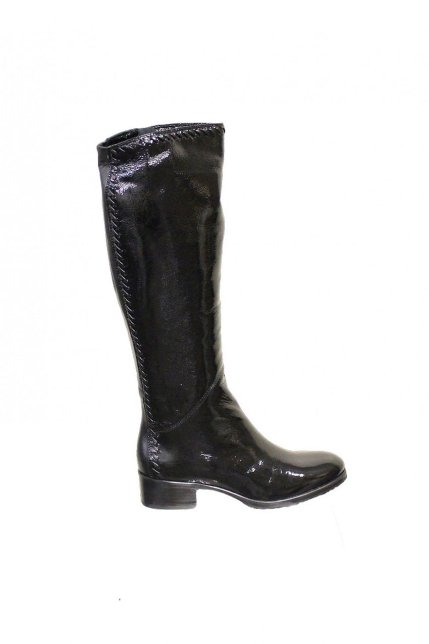 black-patent-le-pepe-leather-stitch-boot-style&-grace