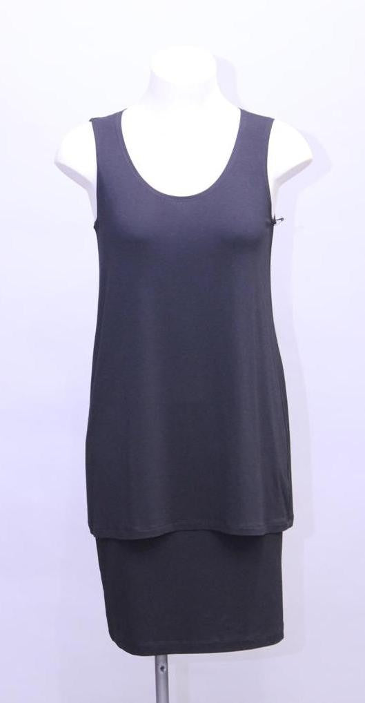 Black Long Mela Purdie Singlet Style and Grace