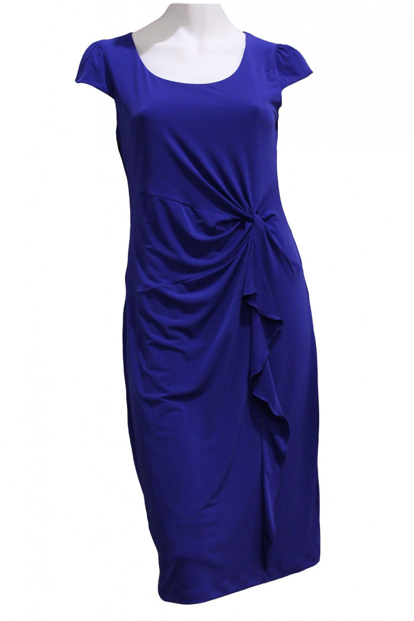 Cobalt Mid Drama Dress Style and Grace
