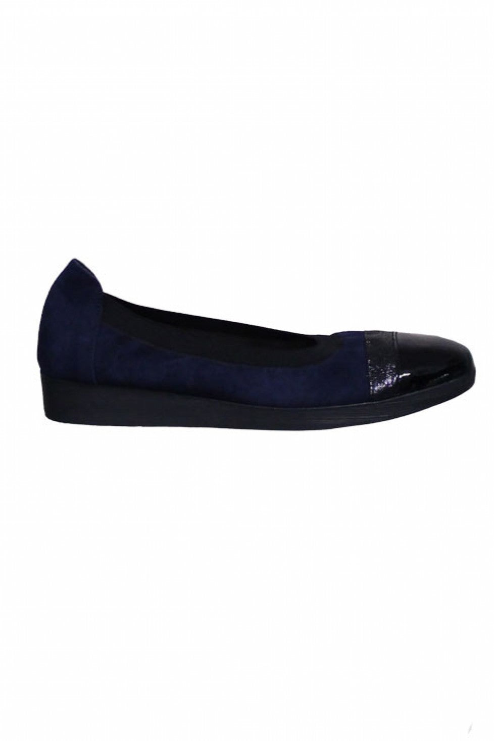 Blue Black Comfortable Hirica Shoe Style and Grace