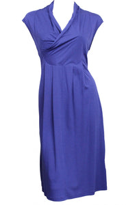 Blue Sleeveless Privilege Dress Style and Grace