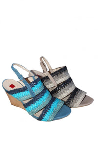 Multi Hogl Sandal Wedge Style and Grace