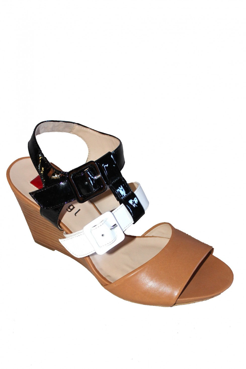 Multi Patent Leather Hogl Wedge Style and Grace