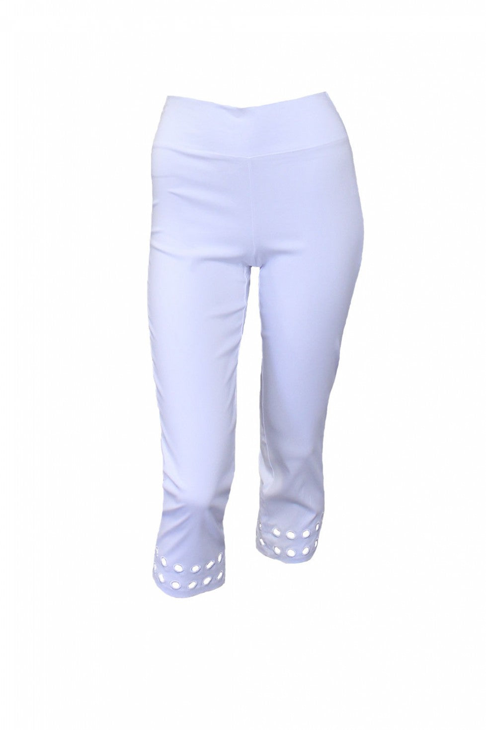 White Crop M.Style Pant Style and Grace