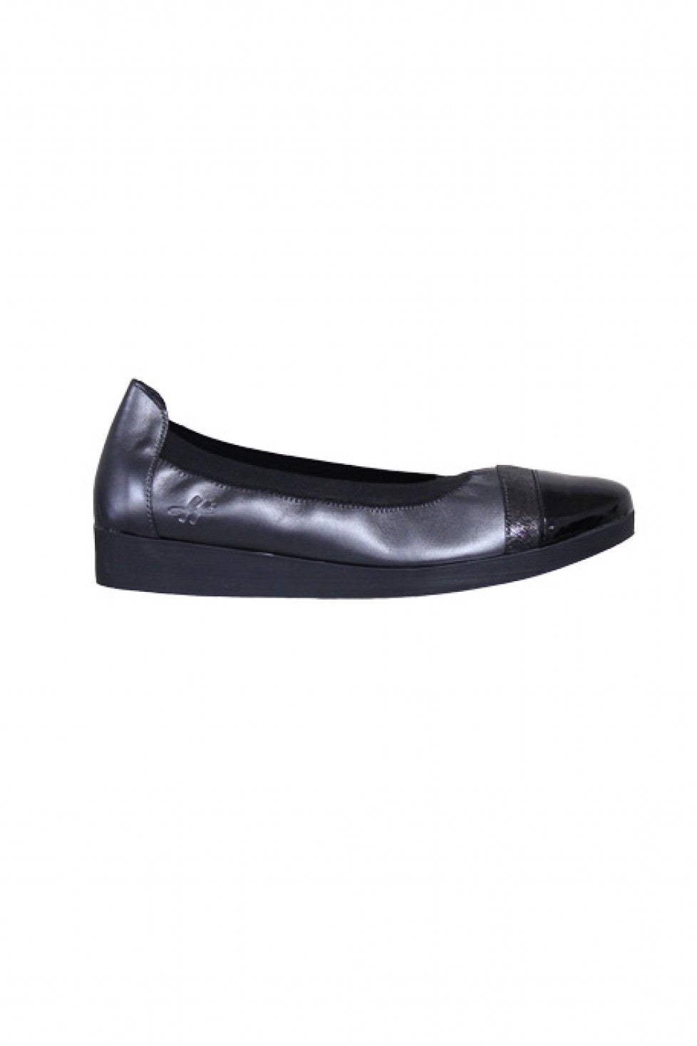 Anthracite Comfortable Hirica Shoe Style and Grace