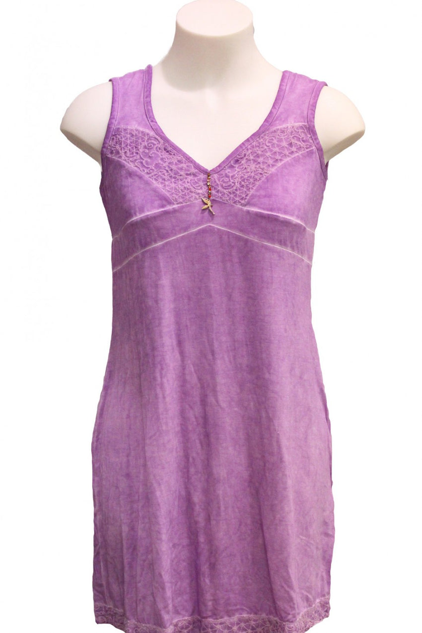 Purple Elisa Cavaletti Dress Style and Grace