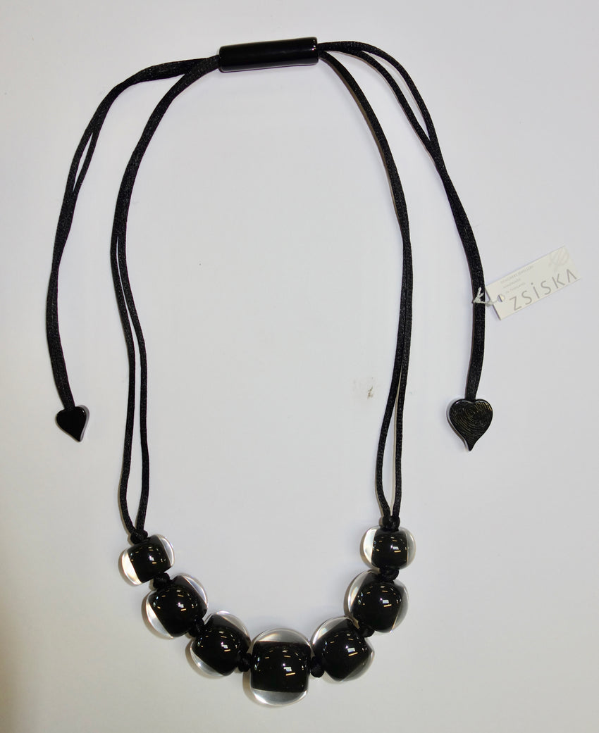 40101219010Q07 Colourful Beads Black Black 9010 Q07