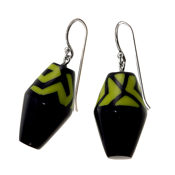 3260503BOLIQ00 NYC Earrings 503 Black Olive