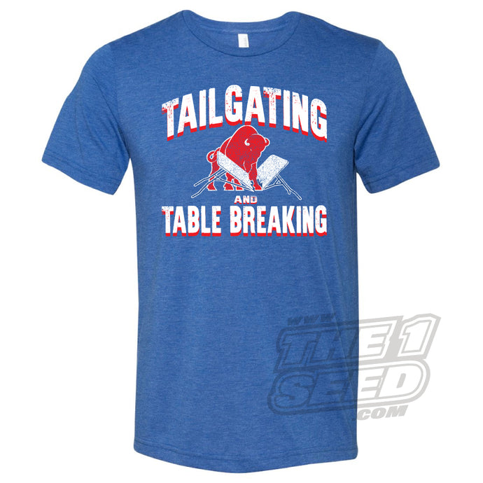 TAILGATING AND TABLE BREAKING