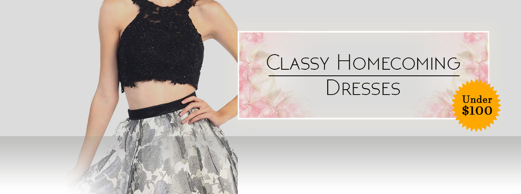 Classy Homecoming Dresses Under $100 to Give You the Show Stopper Look