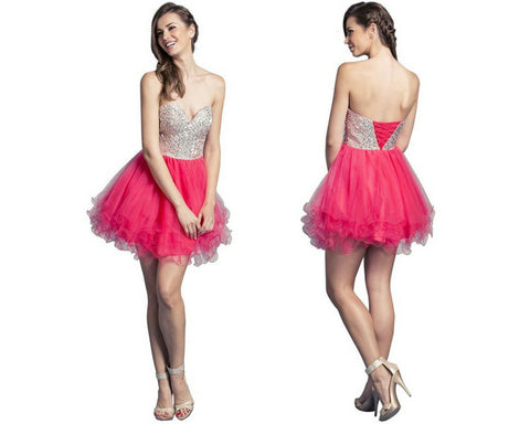 Charming Sweetheart A-line Homecoming Dress