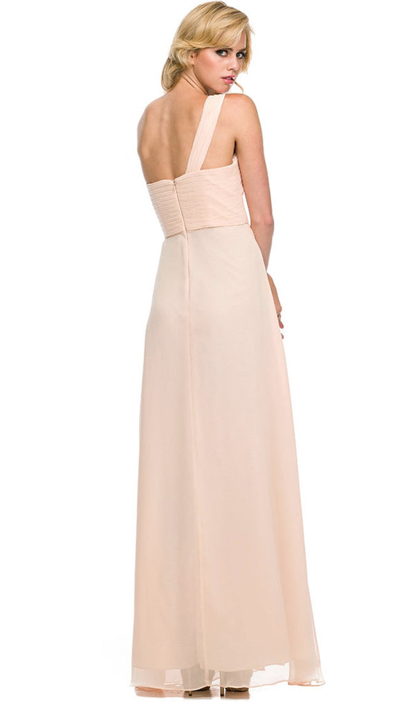 Nox Anabel - 7125 Long One Shoulder Dress