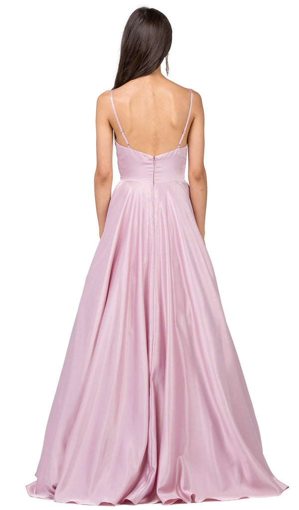 Ruched Sweetheart Pleated Prom Gown