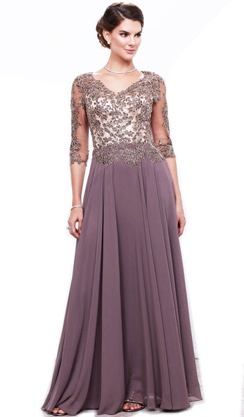 Nox Anabel - 5144 Embroidered A-Line Dress