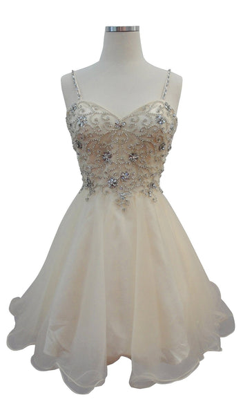Embellished Sweetheart A-line Homecoming Dress