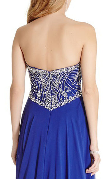 Bedazzled Sweetheart Prom Dress - ADASA