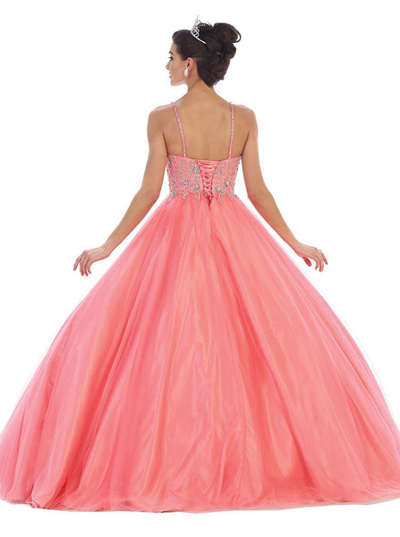 Jeweled Sweetheart Glittering Prom Ball Gown