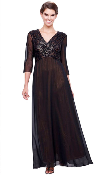 Sheer Empire Dress