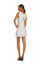 Load image into Gallery viewer, Perla Cotton Lace Mini Dress In Gardenia