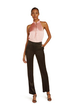 Load image into Gallery viewer, Josephine Silk Halter Top in Blush Pink