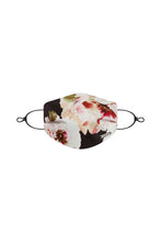 Load image into Gallery viewer, Small Floral Silk / Cotton Face Mask with Filter Pocket and Adjustable Straps