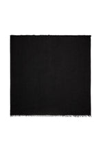 Load image into Gallery viewer, Florencia Cashmere Blend Shawl In Black