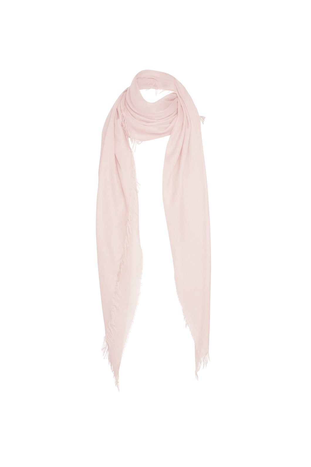 Florencia Cashmere Blend Shawl In Nude