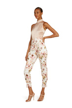 Load image into Gallery viewer, Marie Cotton High Waist Pants in White Floral