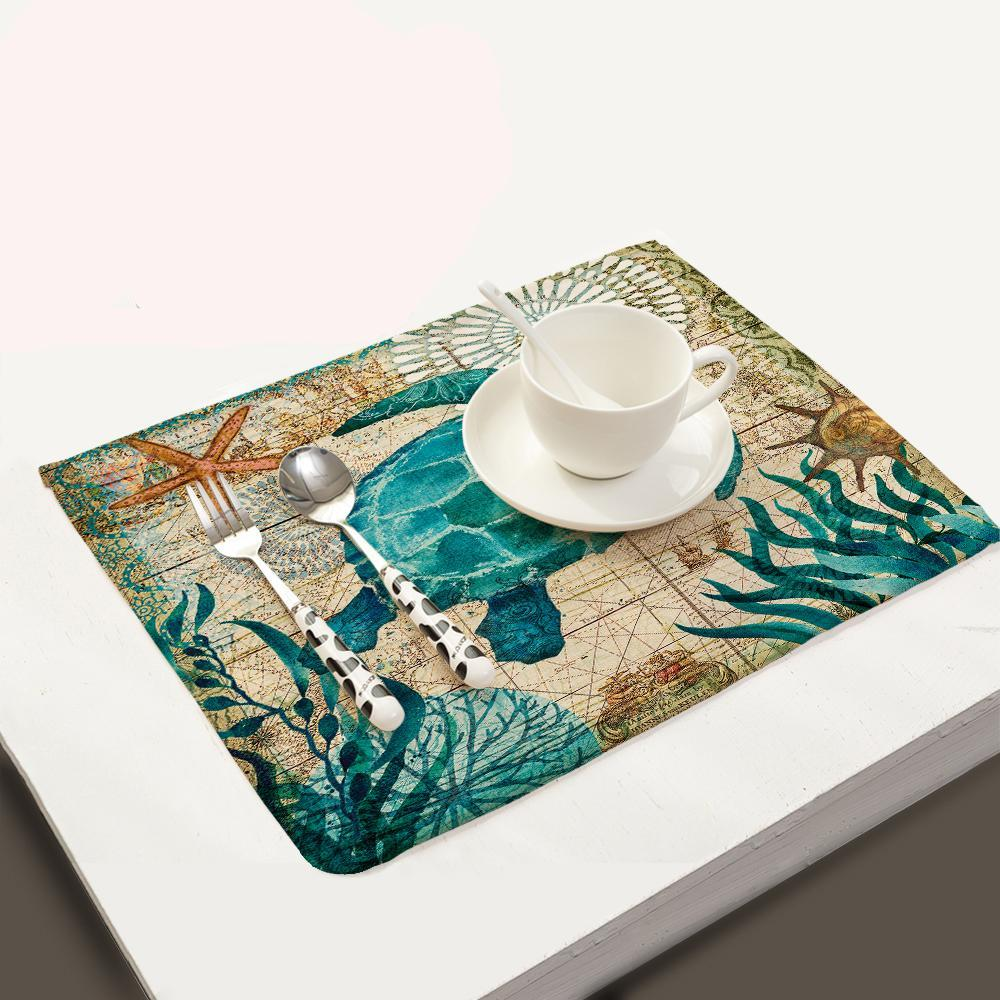 Set Kitchen Table Mats