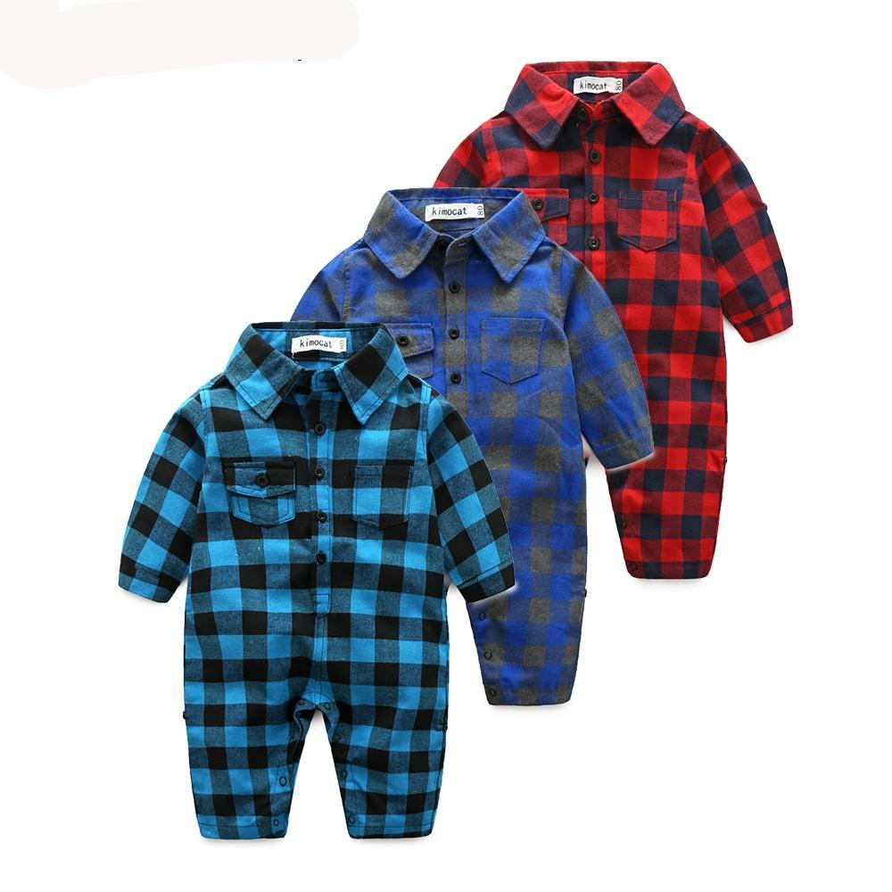 Plaid bebes clothes