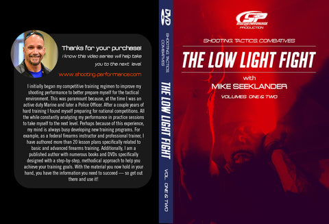 DVD - Low Light Fight Training Program