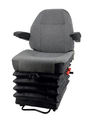 KAB 555LHU air articulated truck seat, loader seat 24V w/arms