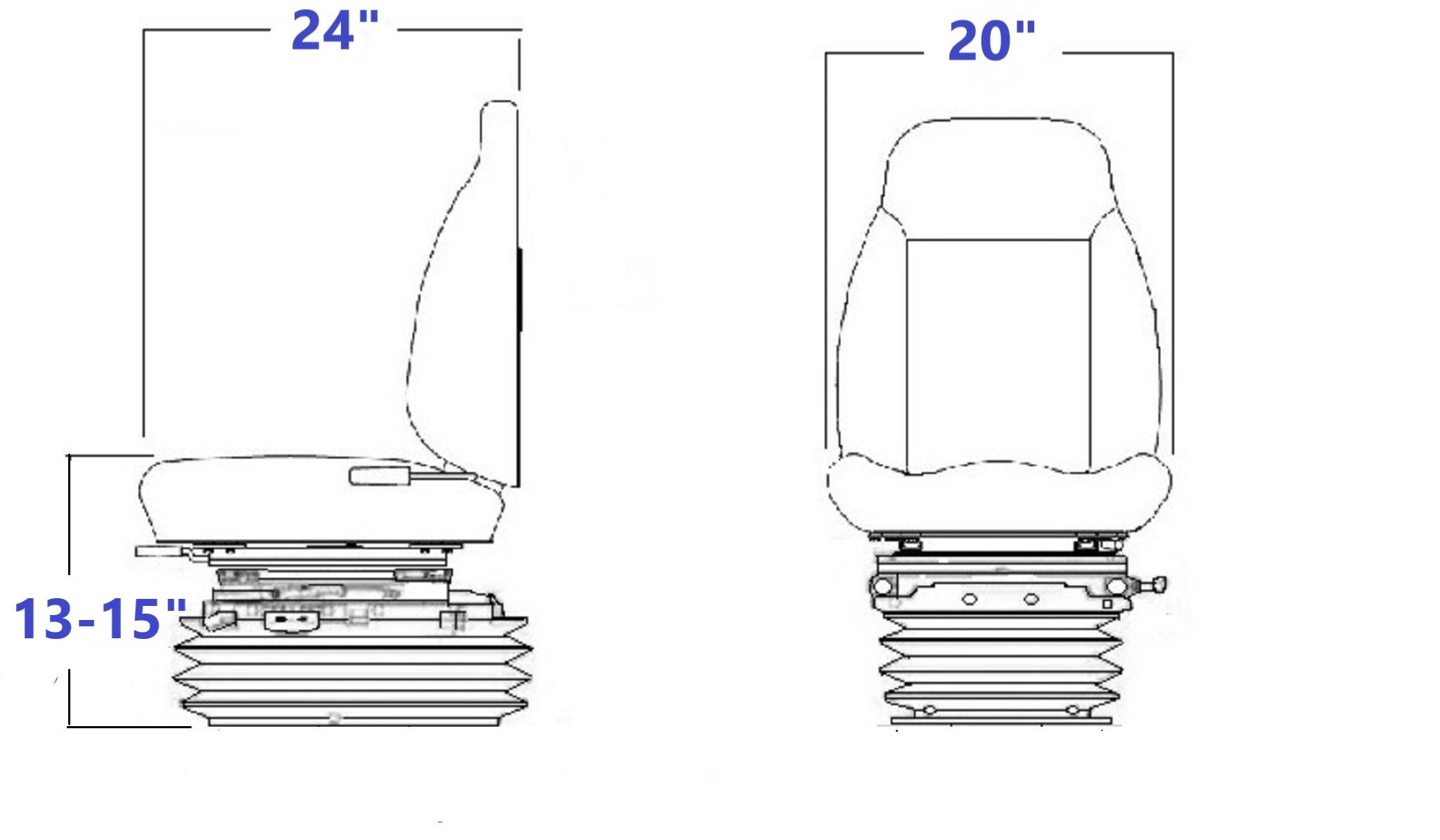 8544S NM Technical Drawing