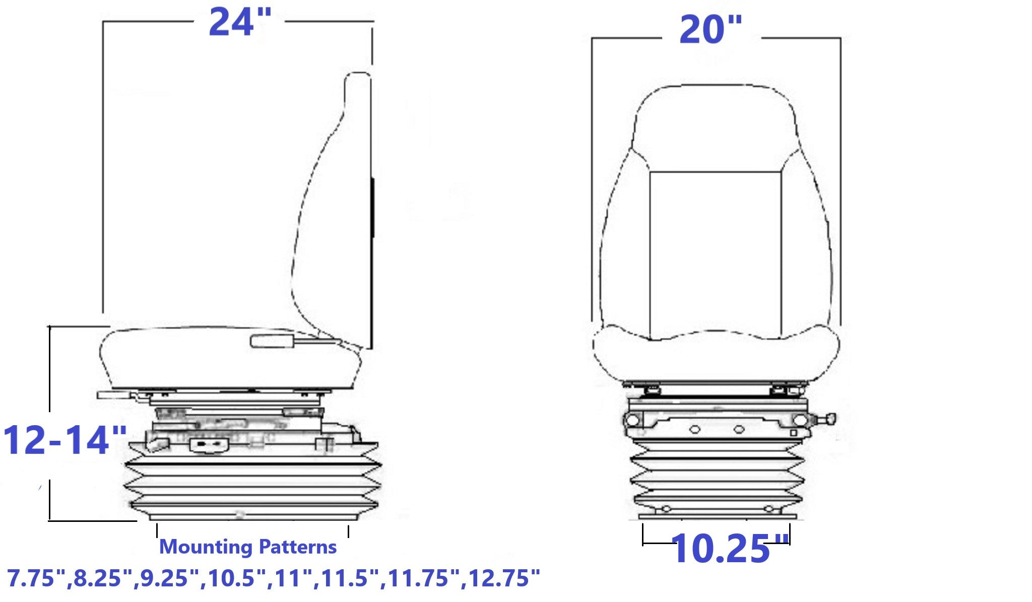 8544S Technical Drawing