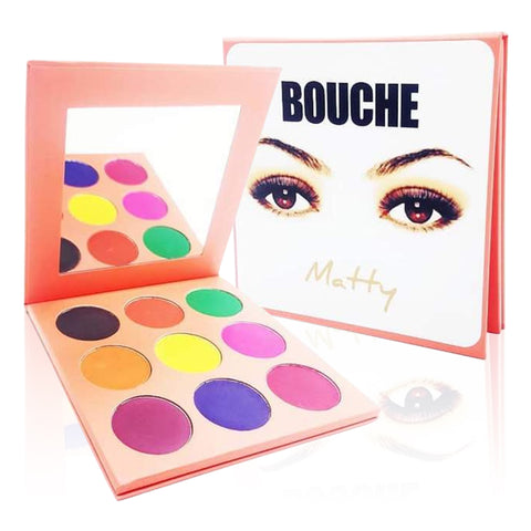 Bouche Matty Eyeshadow Makup