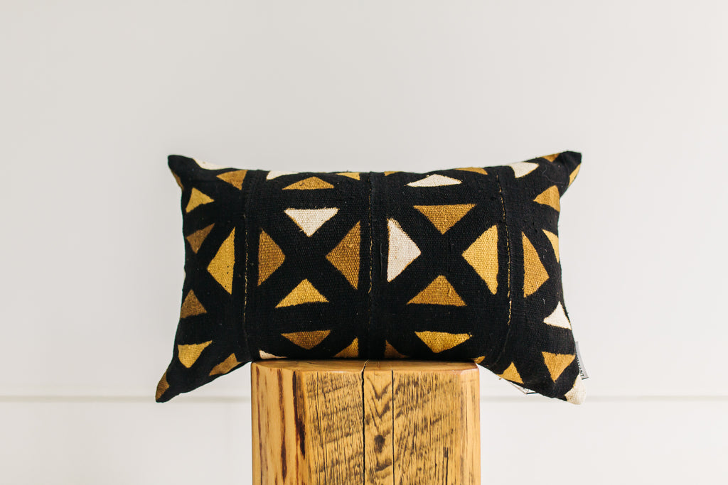Delia African Mudcloth Pillow