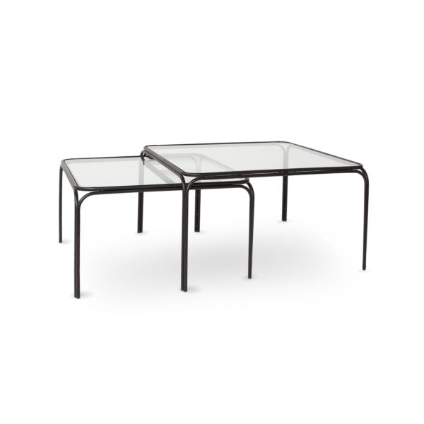 Deco Coffee Tables - Black (Set of 2)