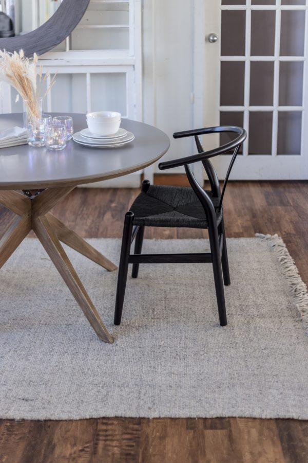 Frida Dining Chair - Matte Black