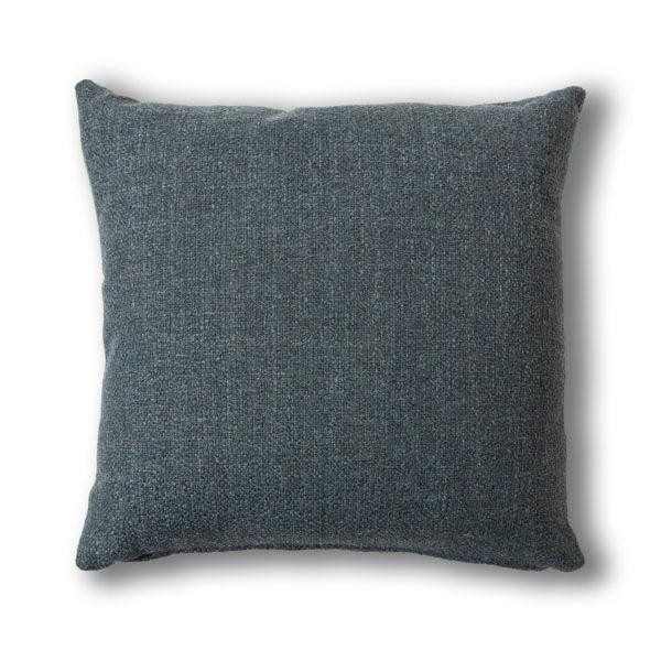 Breathe 22″ Square Feather Cushion – Marine Weave