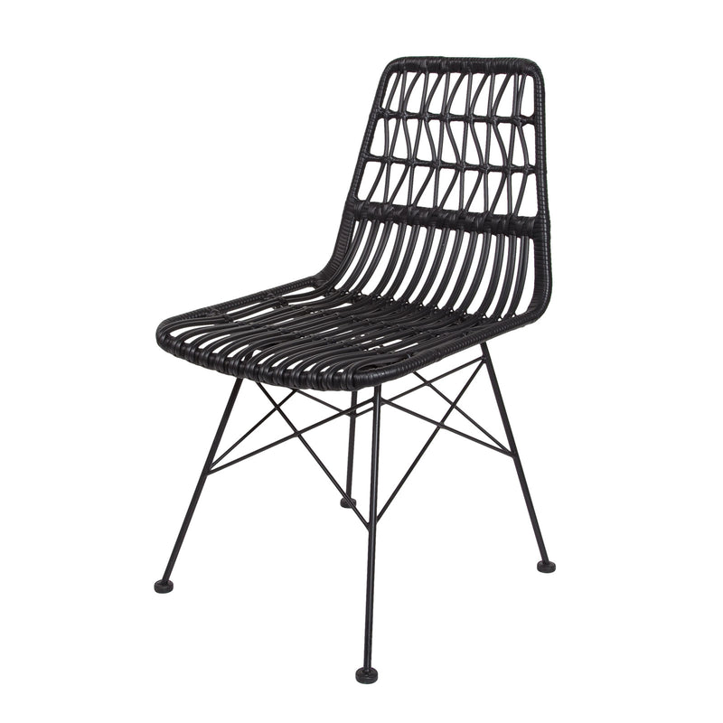 Calabria Dining Chair - Black
