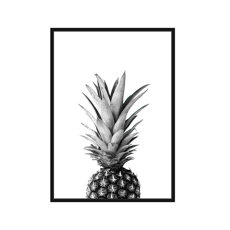 Pineapple Framed Canvas