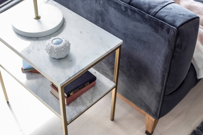 Florence Marble Side Table