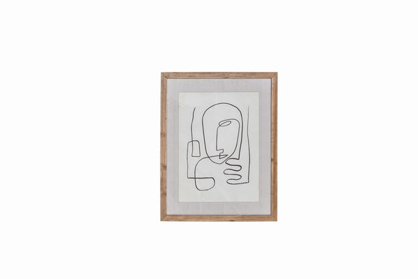 Homme Framed Wall Decor