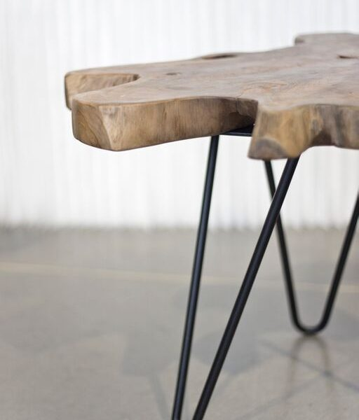 Natura Hairpin Nesting Table