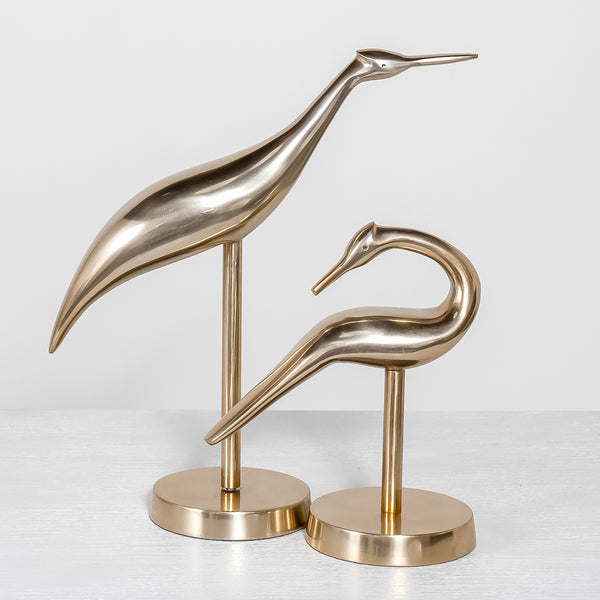 Heron Birds (set of 2)