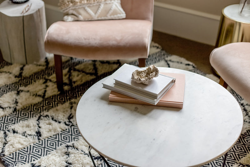 Nile Marble Round Coffee Table