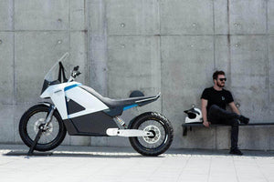 Kuberg Sports Bike 55Kw Motor. 3d printed electric bike